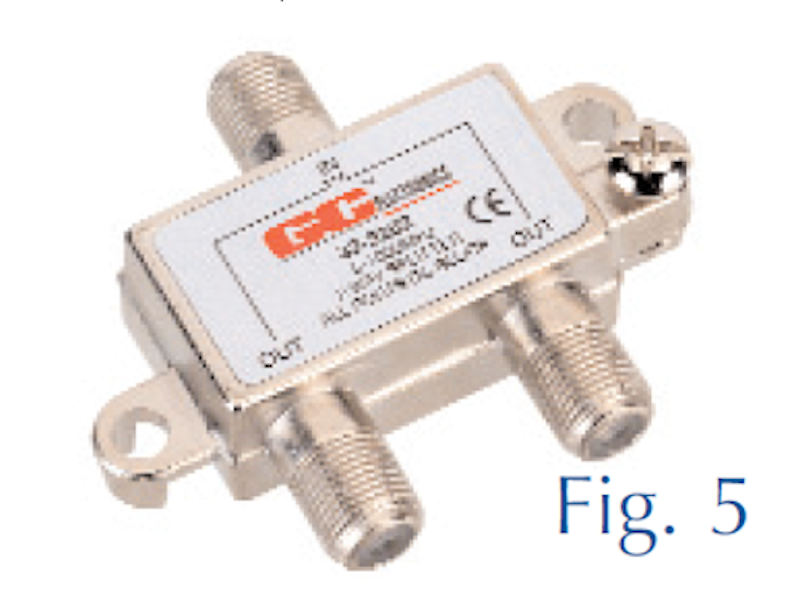 GC Waldom Electronics,32-3018-00BU,Splitter,GC Waldom Electronics,High Quality Broadcast,Hybrid,5 - 900 MHZ,2 Ways