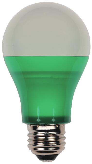 ANG 0315200 ANG LED 6W A19 120V LAMP GREEN