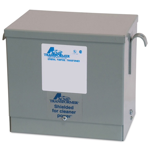 Acme Electric,T2A795181S,TFMR 3PH 9KVA 600-480Y277