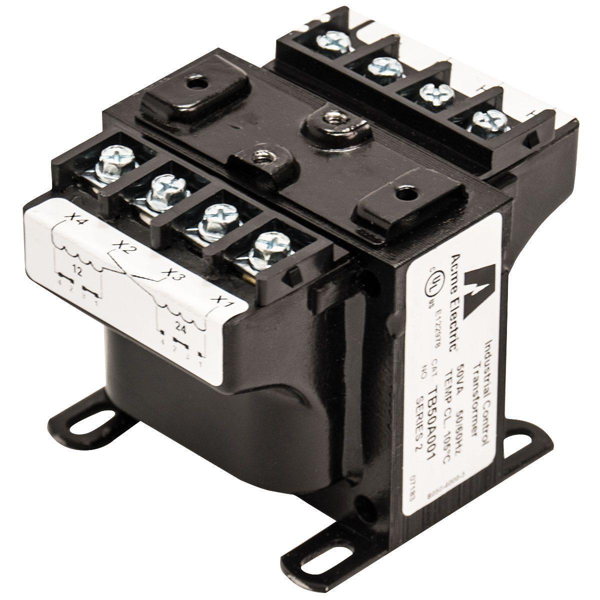 Acme Electric,TB50A013C,ICT .050KVA 240X480 - 24