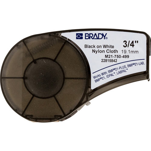 Brady,M21-750-499,CART M21 B499 0.75INX16FT BLK/WHT