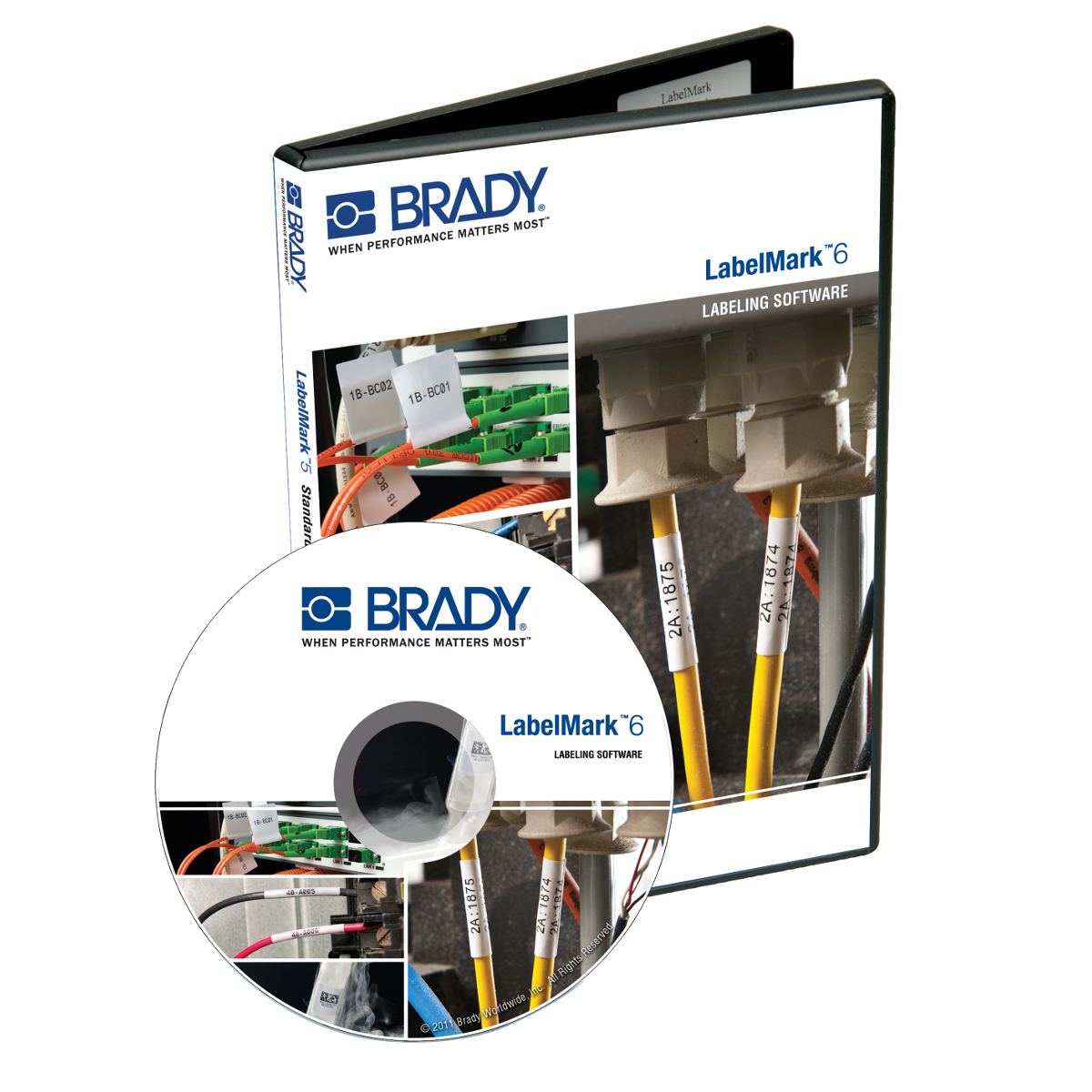 LMO6UPGRCD BRADY LABELMARK CD UPG PRO V3/4/5-V6.2 75447394924