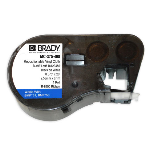 Brady®,MC-375-498,Lbl,M Series,B498,.375