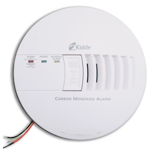 Kidde,21006406,Kidde 21006406 Smoke-CO Combination Alarm, Wire-In, Loudness: 85 DB at 10 FT, Operating Frequency: 60 HZ, Operating Voltage: 120 VAC, Operating Temperature: 40 to 100 DEG F, Electrochemical Sensor