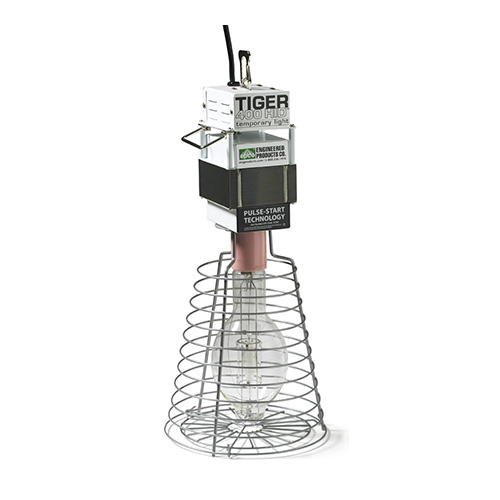 EPC 15-702 TIGER 400W HID TEMP LIGHTING WIRE GUARD PULSE START 400WATT LAMP INCLUDED TYPE O
