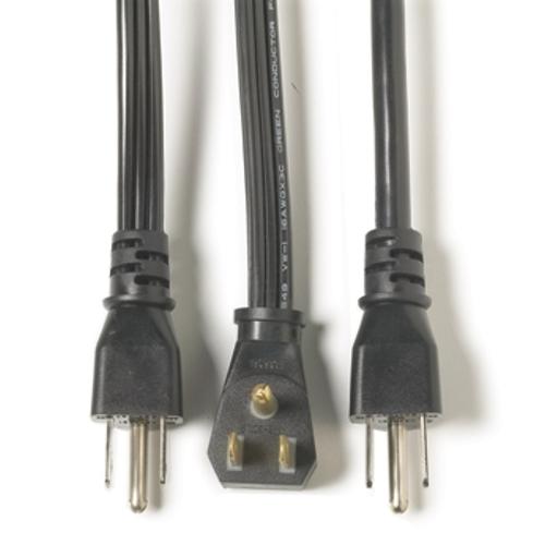 PWR/APPL CD SPT 14/3 FL 9FT STR PG BGE, 15 AMP