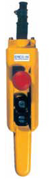 Ericson,5503-PG,PENDANT STATION 2 BUTTON 1SP PLUS E-STOP