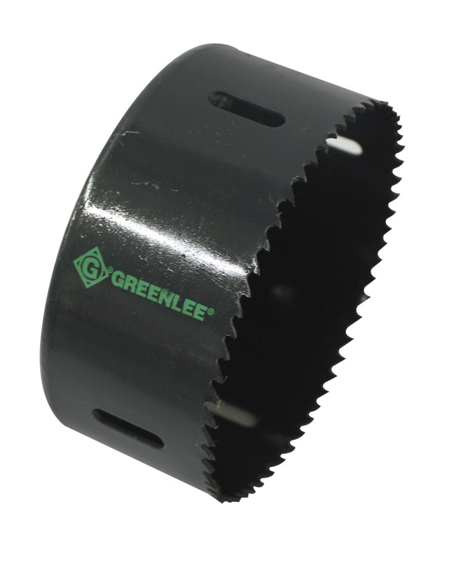 GRE 825-4-1/8 STD HOLE SAW 3-1/2IN KO cs=5