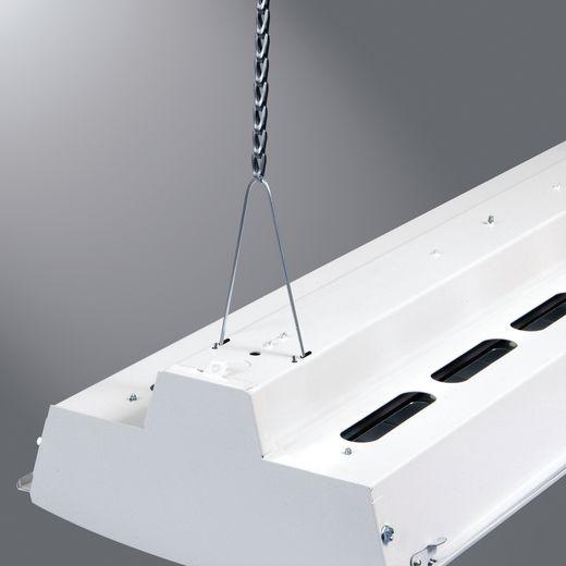 Cooper Metalux,HBAYC-CHAIN/SET-U,Metalux® HBAYC-CHAIN/SET-U Hook Style Mounting Chain Set, For Use With HBI, HBE, HBL and ABI Series Fixtures