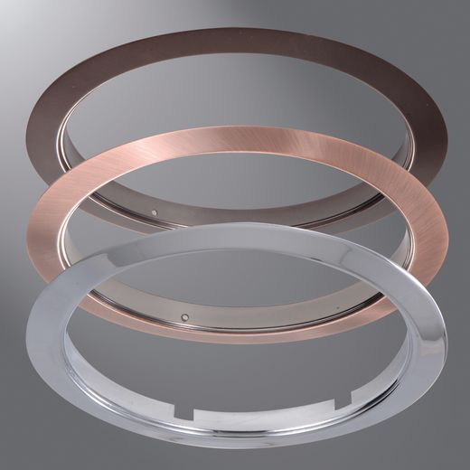 Cooper Portfolio,TRM6P,Halo TRM6P Replacement Designer Trim Ring, For Use With 456 Series Slope Ceiling Trims and Reflector Cone Trims