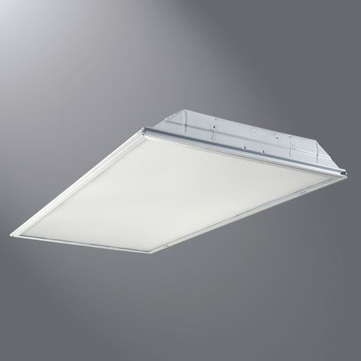 Metalux Commercial,24GR-LD4-38-A-UNV-L840-CD1-U,Cooper Lighting GRLED Series® 24GR-LD4-38-A-UNV-L840-CD1-U Recessed Lighting Fixture, LED Lamp, 120/277 V