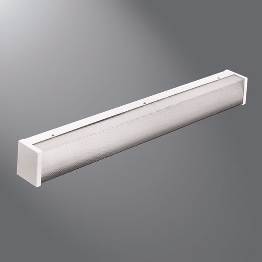 Cooper Fail-Safe,FWW-232-UNV-EB81,Eaton Lighting Fail-Safe® FWW Vandalproof Wall Mount Fixture, T8 Lamp, 32 W Fixture, 120 to 277 VAC, 2 Lamp