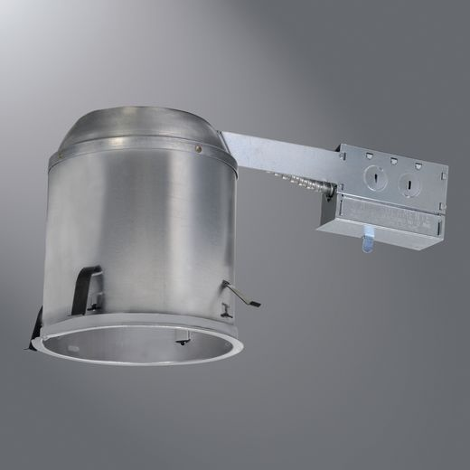 Cooper Halo,H7RICAT,Halo H7RICAT Line Voltage Recessed Lighting Housing, A19/BR30/R30/PAR30L/PAR38 Lamp, IC Insulation, 120 VAC