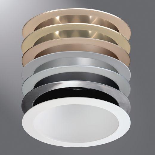 Cooper Portfolio,7050LI,Eaton Lighting 7050LI Reflector Trim, 7-3/8 in ID x 8-3/4 in OD, CFL Lamp, For Use With C7018 and C7042 7 in Housing