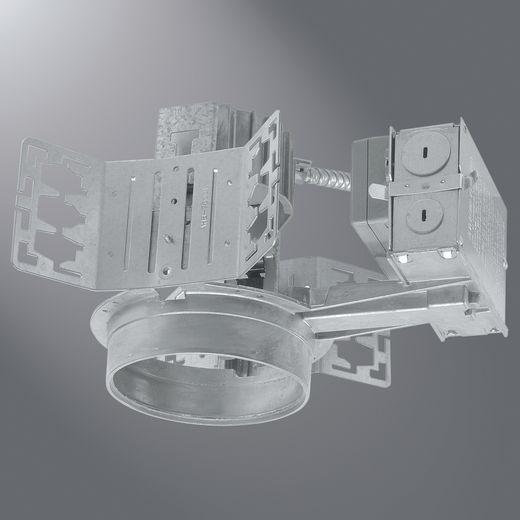 Cooper Portfolio,C4026E,Eaton Lighting C4026E Open Wall Wash Lighting Fixture, Triple Twin Tube CFL Lamp, 120 to 277 VAC