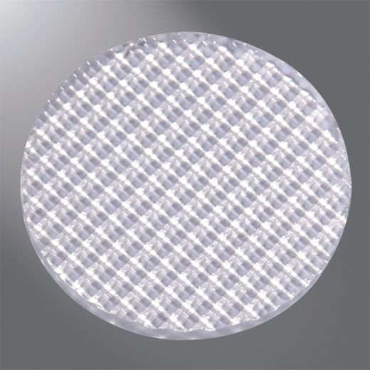 Cooper Lumiere,DIF,Eaton Lighting DIF Diffused Lens, 2 in Dia, For Use With MR16 Lamps, Glass
