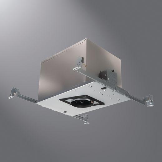 Cooper IRiS,P3MR,IRiS P3MR Low Voltage Recessed Housing, MR16 Tungsten Halogen Lamp, Insulated Insulation, 120 VAC, Steel Housing