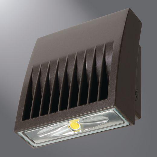 COO XTOR4B LED BRONZE WALLPACK - 38W - 4269LUMENS - 5000K DARK SKYS CARBON BRONZE (EQUIV: 250w MH)