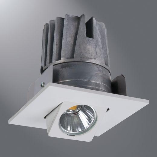 Halo - Recessed,ELSG406930WH,Cooper Lighting ELSG406 2nd Generation Adjustable Gimbal and Light Engine, LED Lamp