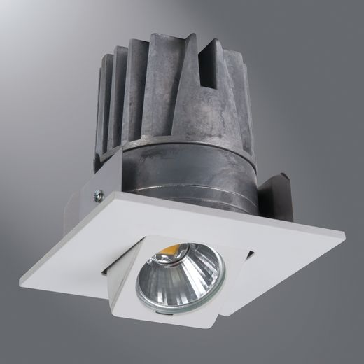 Halo - Recessed,ELSG406930WH,Eaton Lighting ELSG406 2nd Generation Adjustable Gimbal and Light Engine, LED Lamp