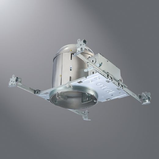 Cooper Halo,H7ICATNB,Halo Air-Tite™ H7ICATNB Single Wall New Construction Housing, Incandescent Lamp, IC Insulation, 120 VAC