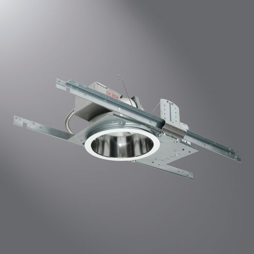 Cooper Halo Commercial,PD6H142E,Halo PD6H142E Recessed Housing, CFL Lamp, Non-Insulated Insulation, 120/277 VAC, Metal Housing