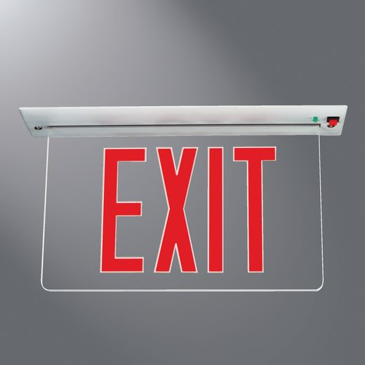 Coo Eur70r Led Univ Exit Sign Nonstock
