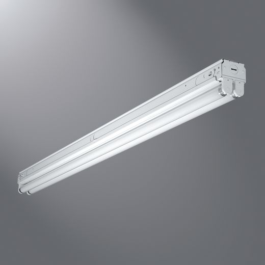 Cooper Metalux,SNF-132-UNV-EB81-U,Metalux® SNF-132-UNV-EB81-U Universal Narrow Strip Light With Knockout, 1, 120/277 VAC
