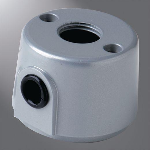 RS1-BK LUMIERE PLT/BOX CVR,RND AL,BLK