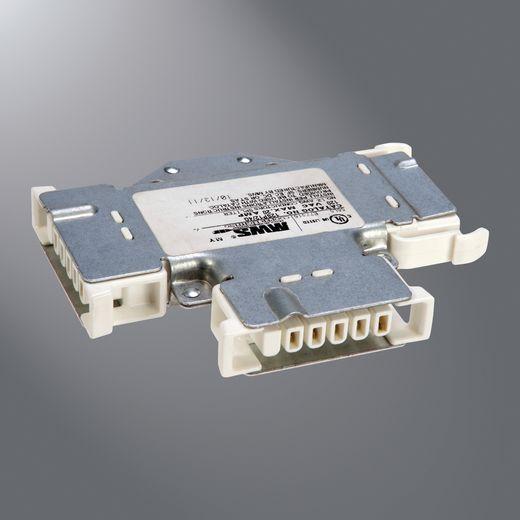 Cooper MWS,27SP12/4G,Eaton Lighting MWS® Splitter, 277 V, 20 A, Galvanized Steel