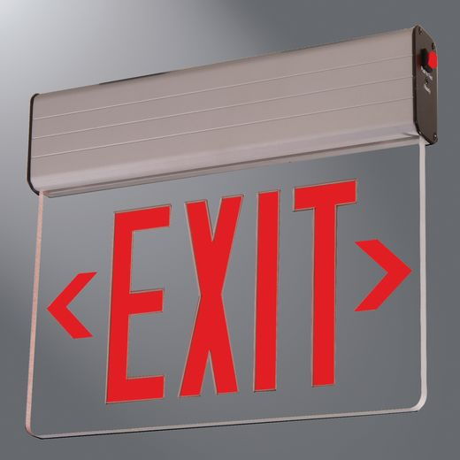 Atlite Emer/Exit,REUSN18R,NY SURFC EDG LIT EXIT, SLF PWRD, 1 FACE