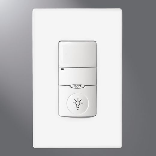 Greengate - Sensors,VNLW-P-1001-MV-N-W,WALLSWITCH SENSOR NIGHT LIGHT WHITE