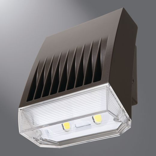 XTOR8BRL-PC2 LUMARK CROSSTOUR MAXX LED 81W, WALL MOUNT, REFRACTIVE LENS DOOR, CARBON BRONZE 5000K