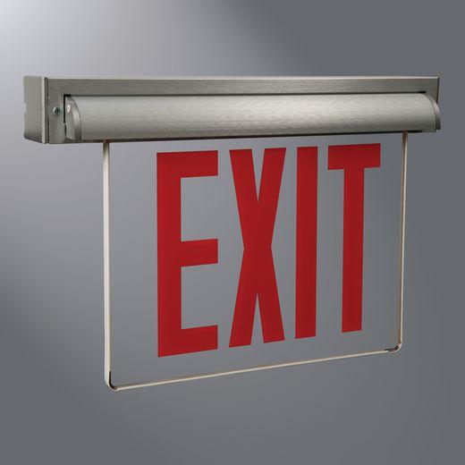 Atlite Emer/Exit,AUXSSD6,NY UNIV EDGLT, SELF POW, BR AL, 6 LENS