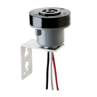 Intermatic,K122,Locking Type Receptacle And Pole Bracket Adapter