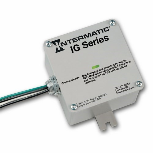 INT IG1240RC3 120/240 VAC Single (Split) Phase, Residential Hardwired Protector, box packaging. UL1449 Version 3.0 Compliant. surge arrester