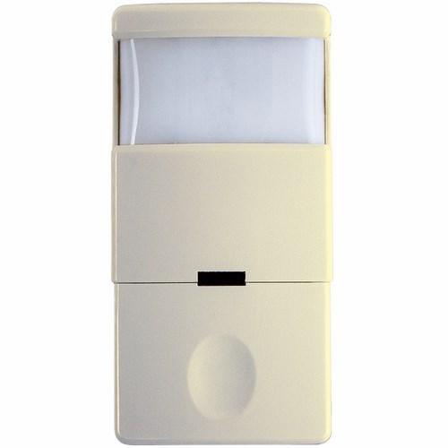 INT IOS-DOV-IV Decorator PIR occupancy/vacancy sensor, 180 degree, single relay, Ivory two in one