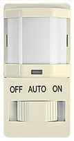 INT IOS-DSIMF-IV Slide on/off button, 150 degree, Ivory, incandescent and magnetic fluorescent control