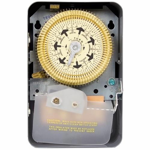 INT T2005 NEMA 1 - 125 V SPDT 2 HOUR MINIMUM ON/OFF TIMES