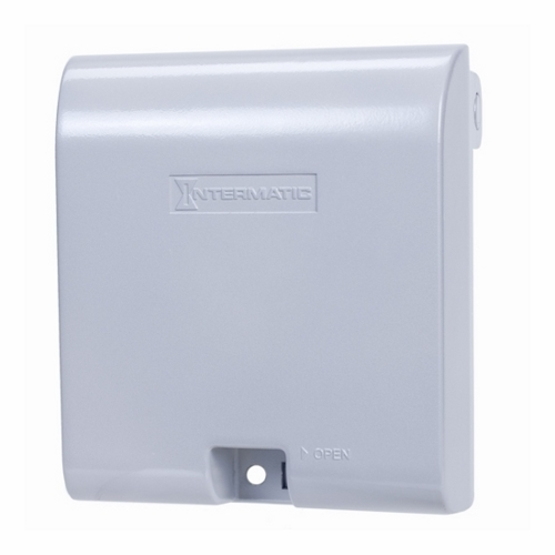 Intermatic,WP1030MXD,Intermatic® WP1030MXD Weatherproof While In-Use Cover, 161.9 mm L x 142.9 mm W x 79 mm D, Aluminum