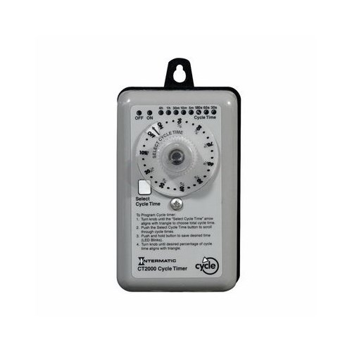 ITMCT2000 INTERMATIC PERCENTAGE CYCLE TIMER. 120/240V, 60HZ.