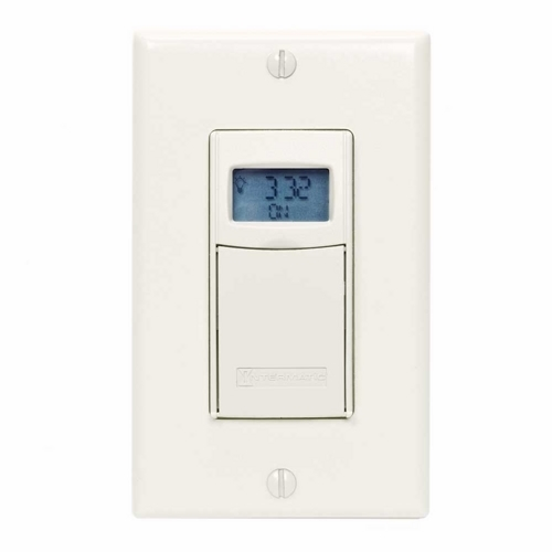 Intermatic EI400LAC Digital Auto-Off Timer; Light Almond