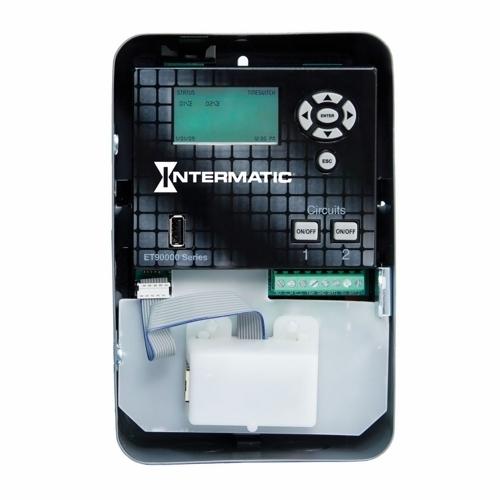 Intermatic ET90215CE 2 CKT TIME SW/INDOOR W/ETH