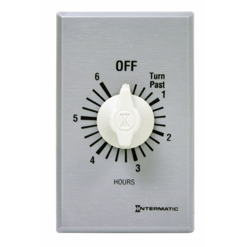 Intermatic FF36H 6-Hour Commercial Auto-Off Timer, SPDT
