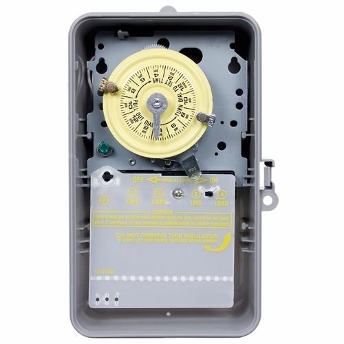Intermatic T104P Nema 3R Plastic Case 208277 V Dpst Gray Case