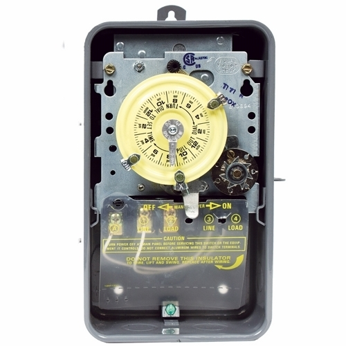 NEMA 3R Steel Case 208-277 V DPST