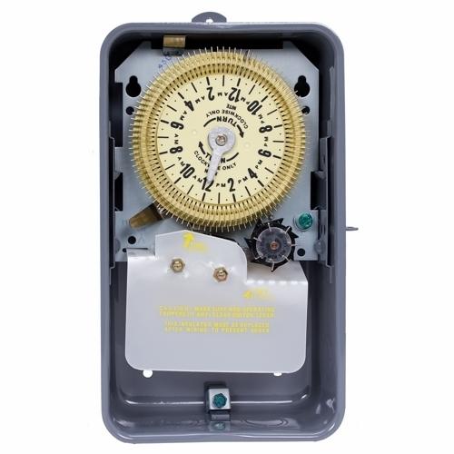 STEEL CASE 125 V SPDT W/7 DAY SKIPPER