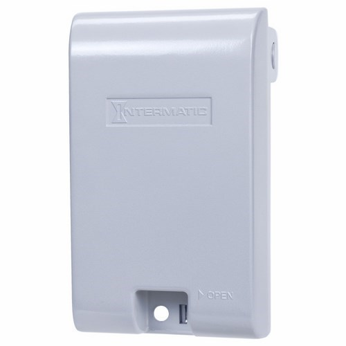 Intermatic WP3110MXD Aluminum Extra Duty Weatherproof Receptacle Cover