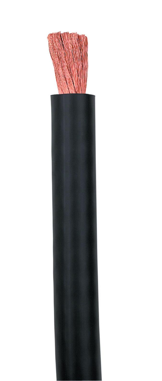 2/0 BLACK WELDING CABLE (CUT REEL)