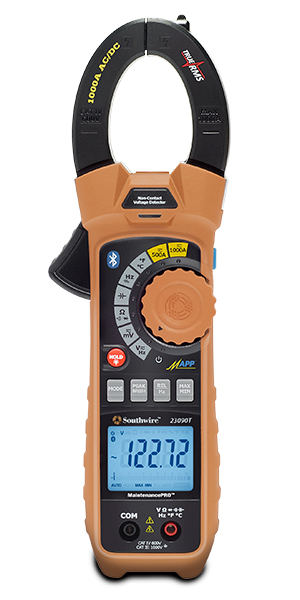 MAX 23090T (59686840) MAXIS CLAMP ON METER W/BLUETOOTH